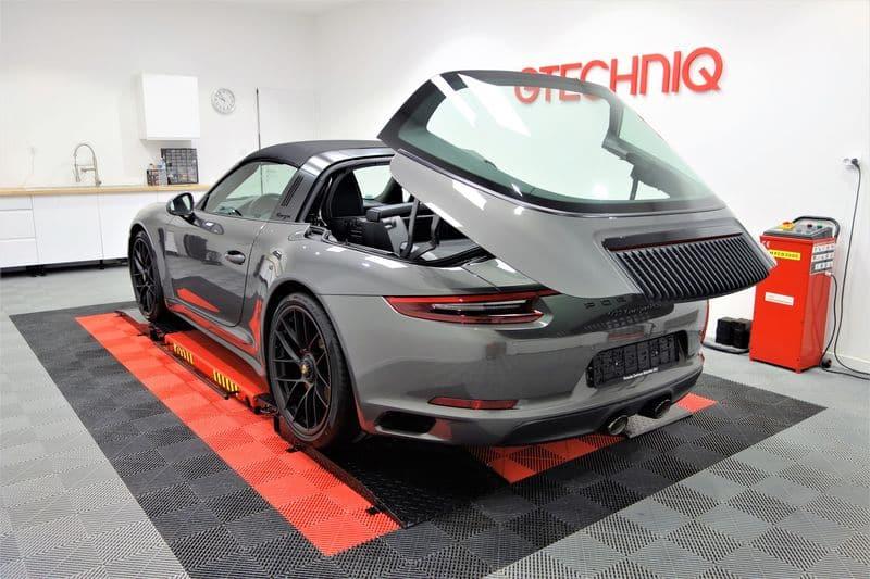 Porsche 991 Targa 4 GTS film de protection carrosserie PPF Suntek_44