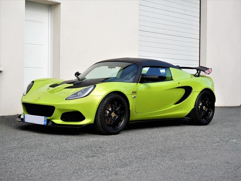 film de protection carrosserie sur Lotus Elise Cup 250