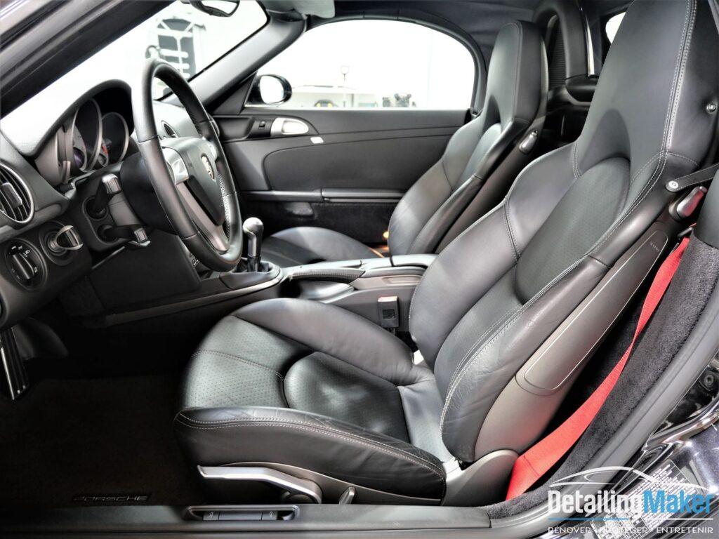 Rénovation intérieur Porsche Boxster S