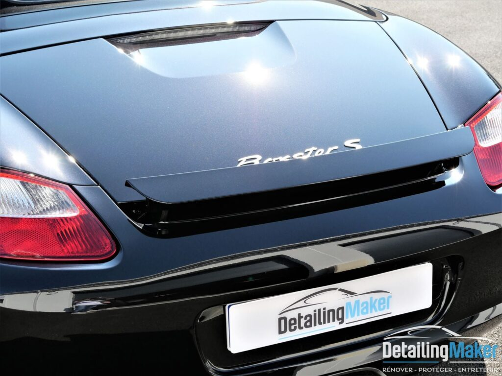 Boxster S detailing