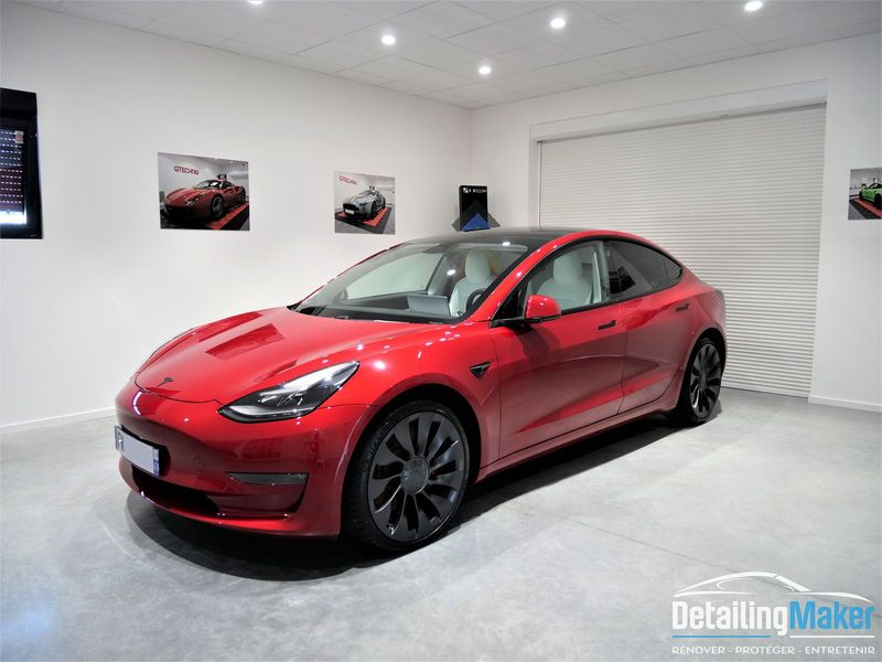 protection carrosserie Tesla Model 3 Performance